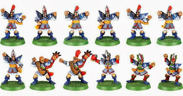 Altos Elfos Blood Bowl