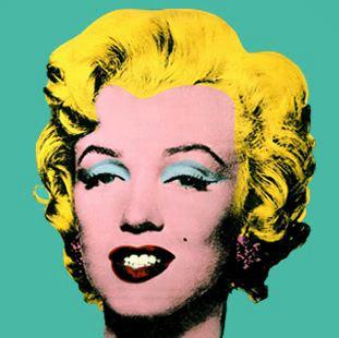 """Marilyn Monroe de Andy Warhol, """"O príncipe da pop art"""""""