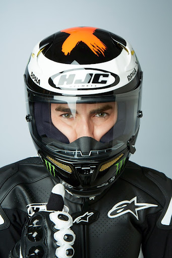 Jorge Lorenzo HJC 2013 Helmet