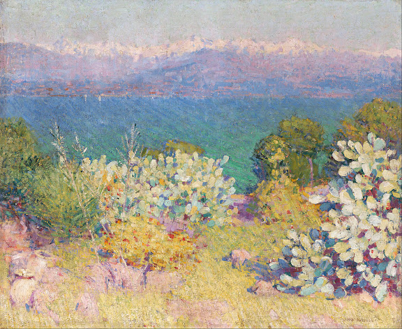John Russell - Landscape, Antibes (The Bay of Nice)