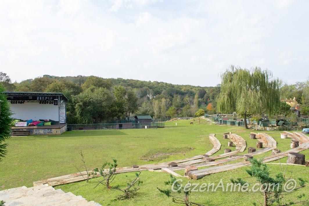 Polonezköy Piknik Park'ta geniş yeşil alan