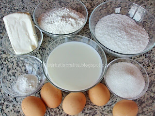 Prajitura cu crema de cocos ingrediente