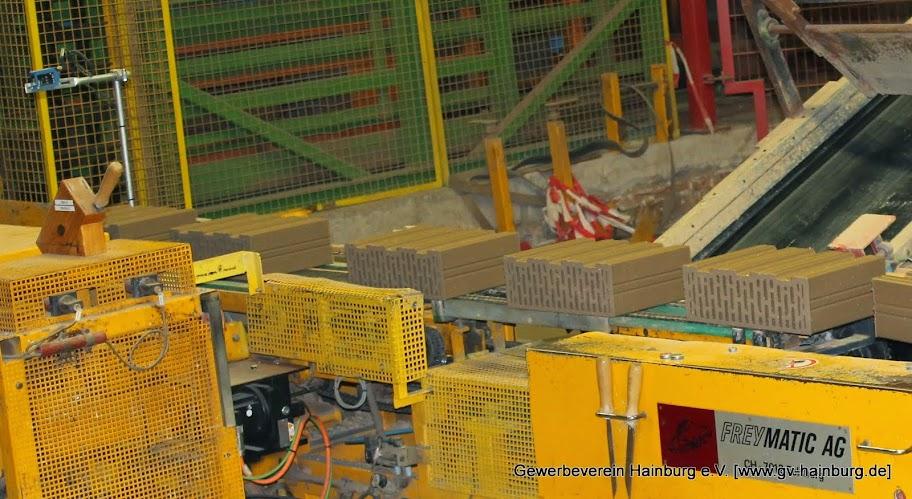 Moderne Ziegelproduktion
