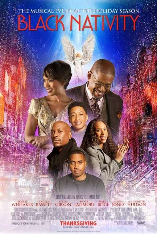 Poster Of English Movie Black Nativity (2013) Free Download Full New Hollywood Movie Watch Online At alldownloads4u.com