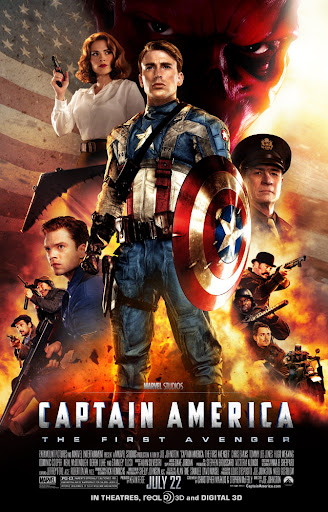 Picture Poster Wallpapers Captain America (2012) Full Movies
