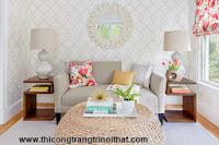 15 mẹo thiết kế và bài trí phòng khách nhỏ - Thi công trang trí nội thất gỗ