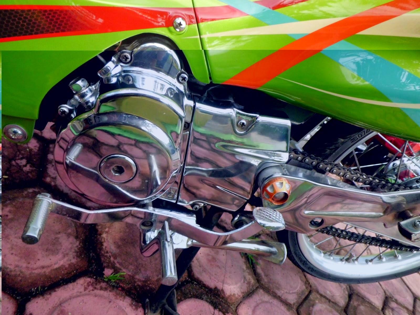 Modifikasi Mesin Suzuki Shogun 110