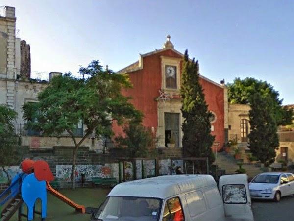 Catania, Ognina, Tortuga, chiesa di padre Fallico