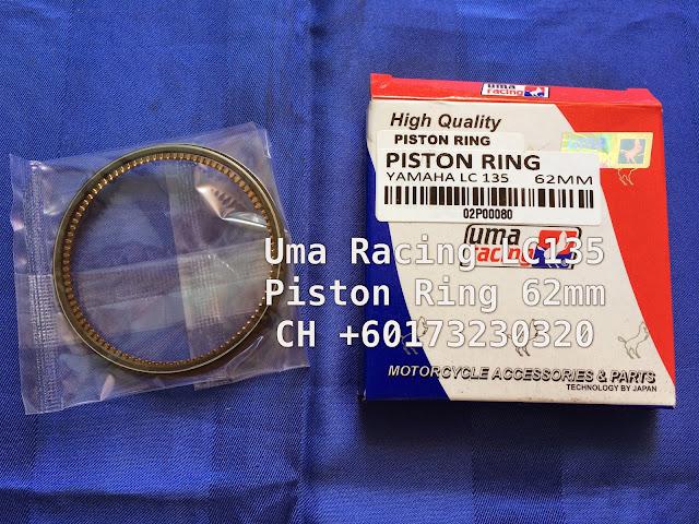 Head Racing Lc135 Uma Racing Lc135 Piston Ring