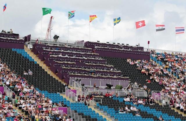 ロンドンオリンピックで目立つ空席、チケット再販売
