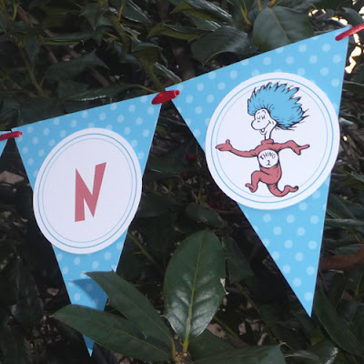 Dr Seuss Party Banner