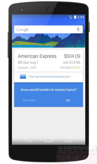 Google Now Pay