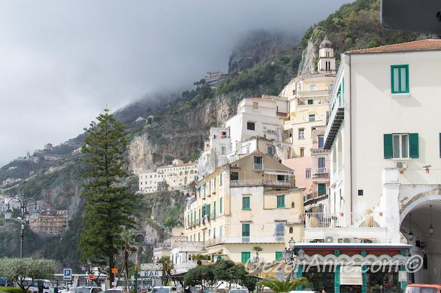 Amalfi manzarası, İtalya