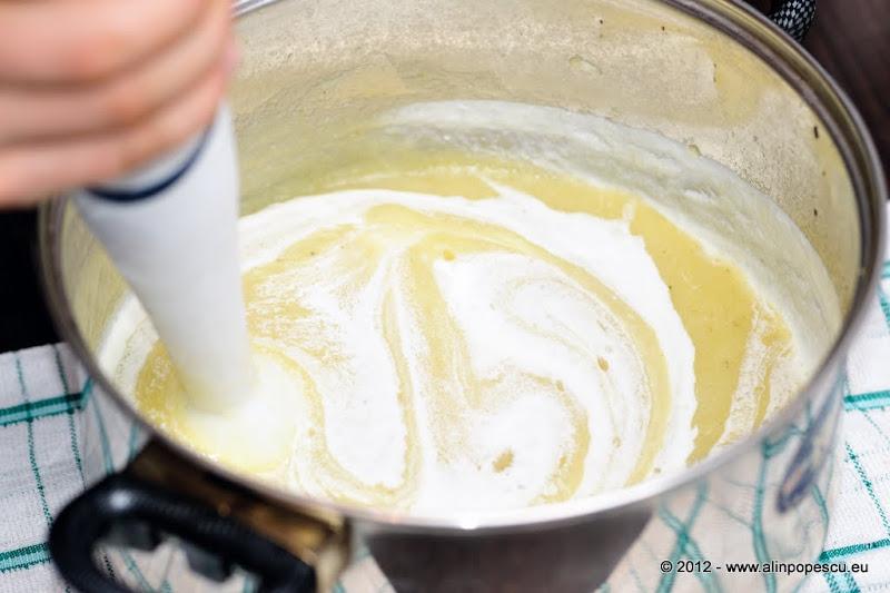 Razvan Anton supa crema de usturoi cu smantana