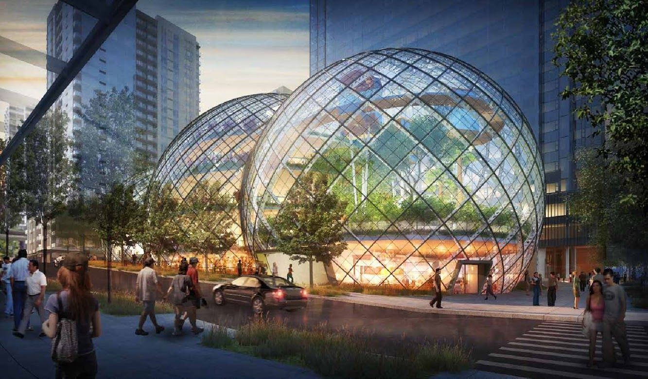 Seattle, Washington, Stati Uniti: Amazon Biospheres by Nbbj
