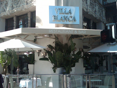 Villa Blanca Restaurant Beverly Hills California