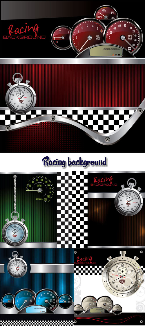 Stock: Racing background
