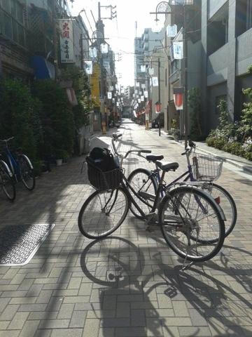 en bici hacia Asakusa, 19/05/2013
