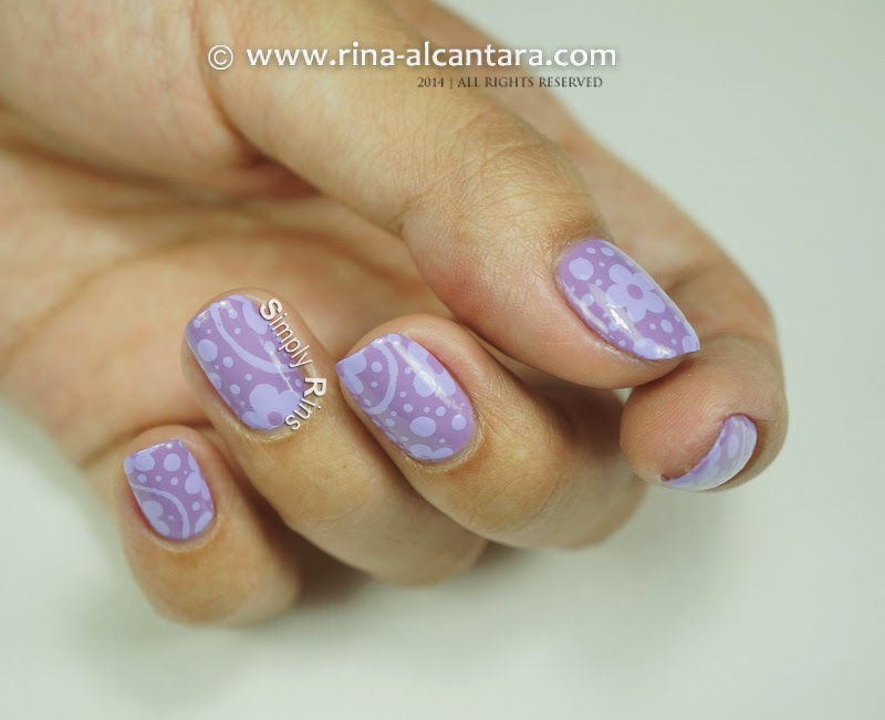 Nail Art: Can\'t Get Enough of Lavender | Simply Rins