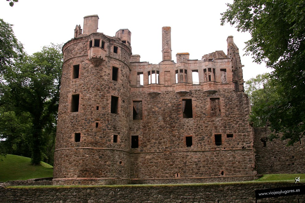 Foto de Huntly Castle