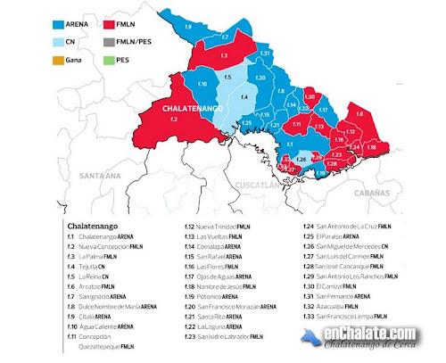 Elecciones 2012 Chalatenango
