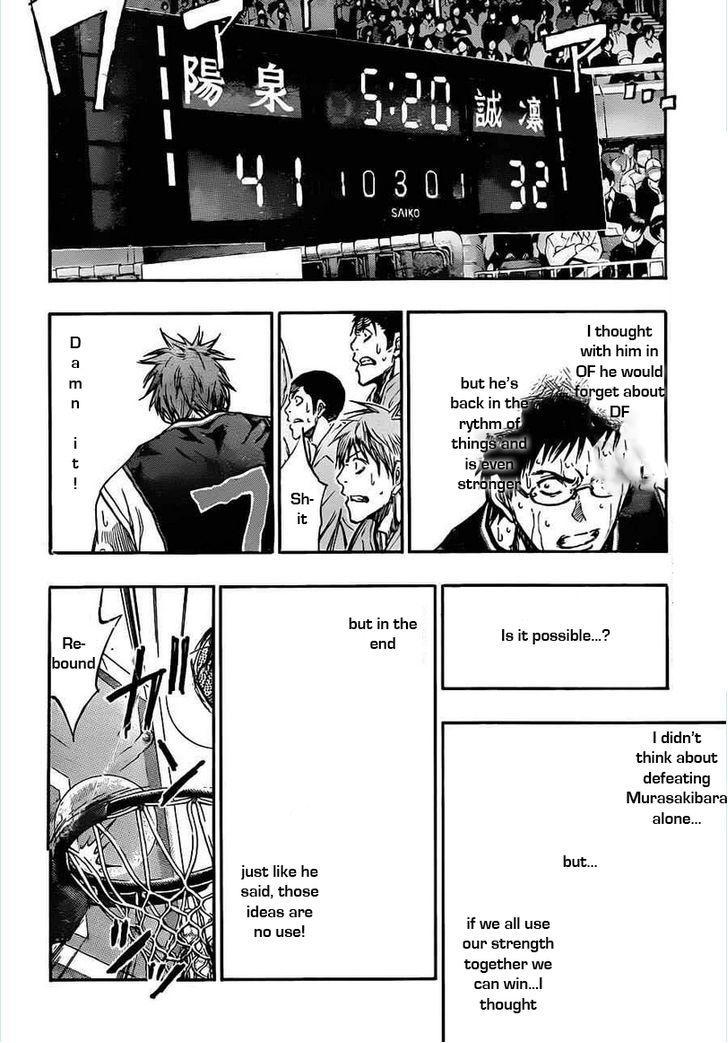 Kuroko no Basket Manga Chapter 157 - Image 08