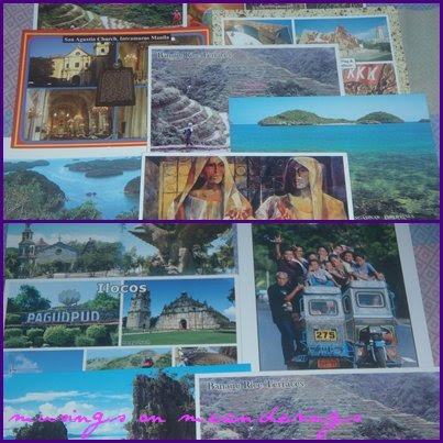 postcards, postcrossing, mail day