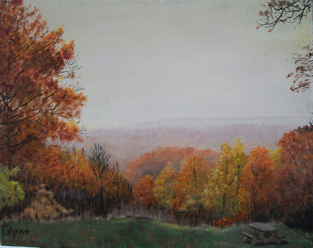Autumn in the Foothills - Original Painting
