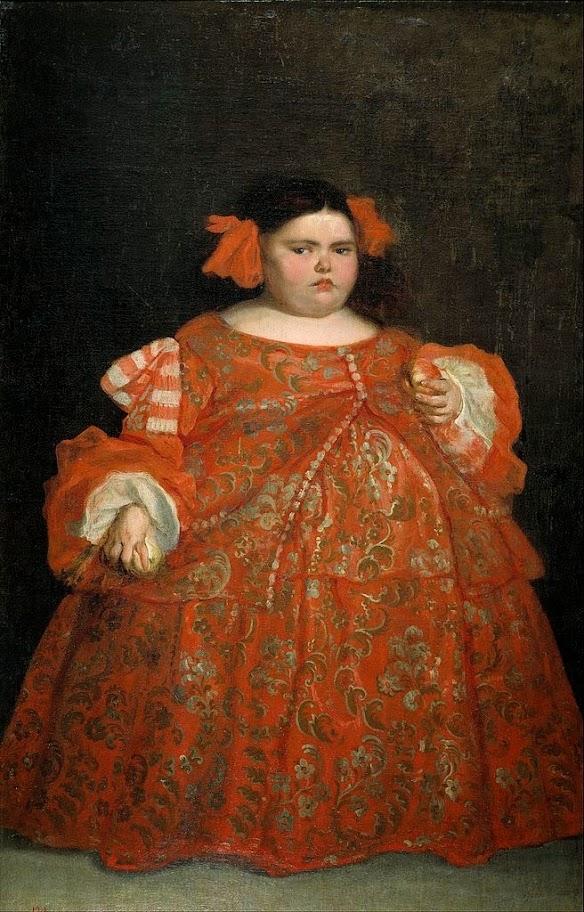 Juan Carreño de Miranda - Eugenia Martinez Vallejo