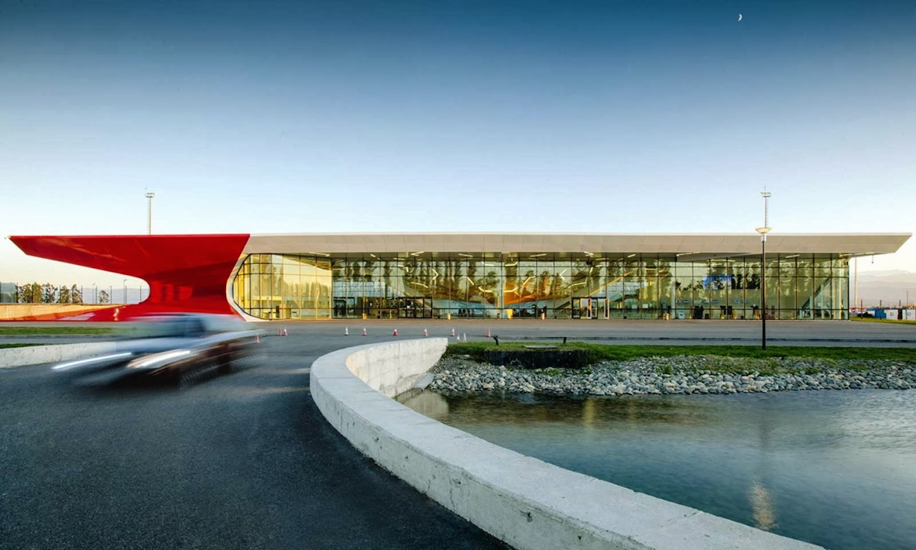 Kutaisi International Airport by Unstudio