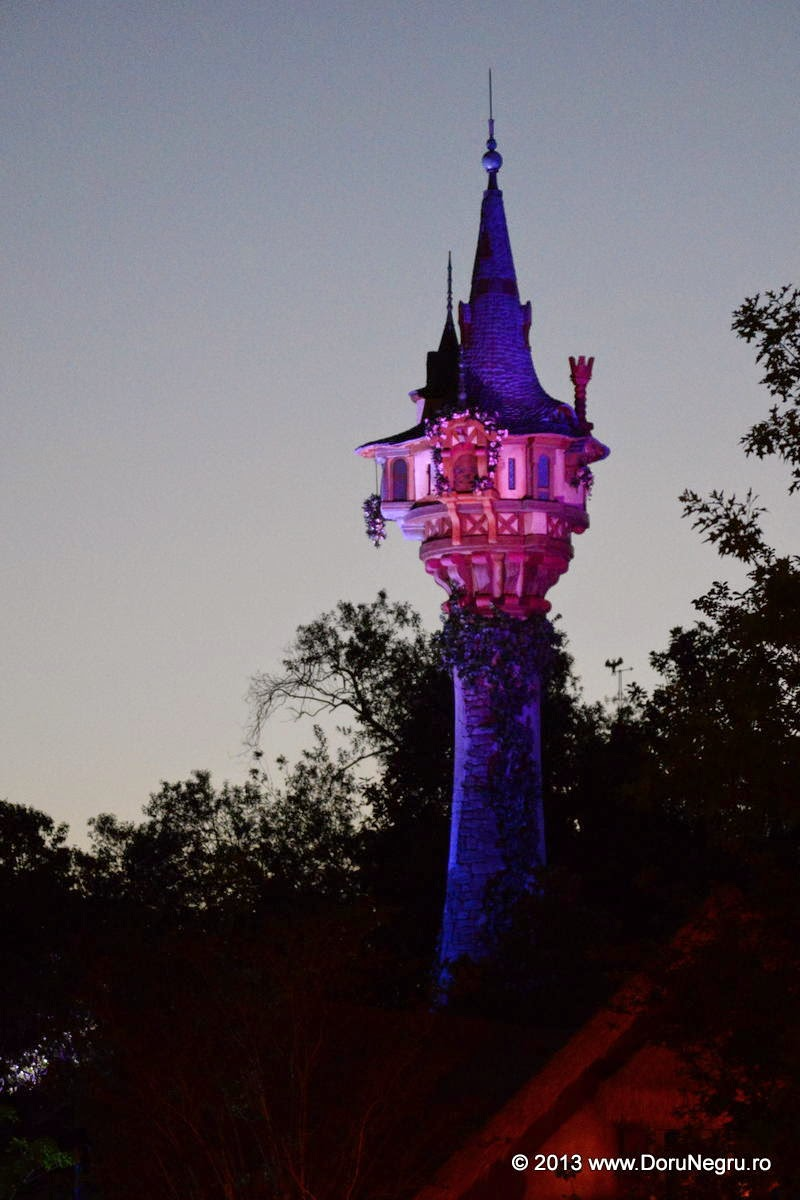 Rapunzel's tower at Magic World, Disney World, Orlando, FL