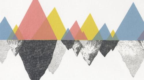Geometric Art Color Reflection