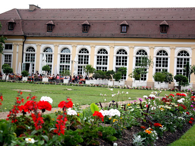Hofgarten in Ansbach Germany