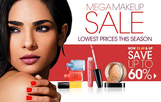 Avon Makeup Sale Going Now