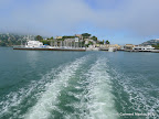Aboard the ferry to Angel Island