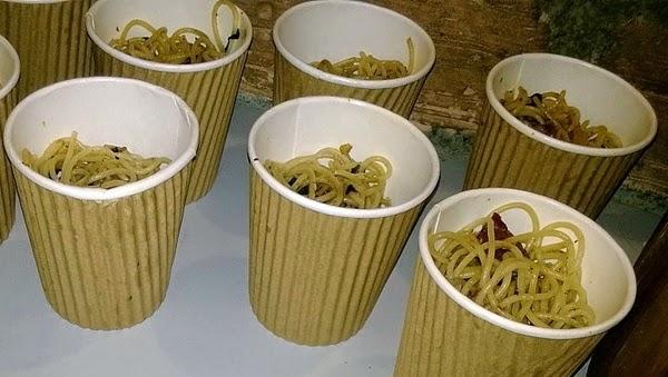 sphaghetti aglio olio