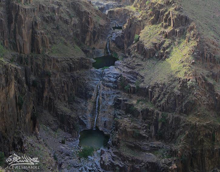 Untitled Panorama3 - رحلة لأجمل شلالات السعودية{غُدران الأقْلُت}ببللحمر بعسير21-8-1436