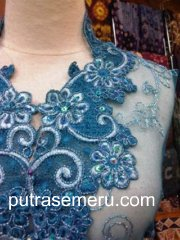 Kebaya Blue LED