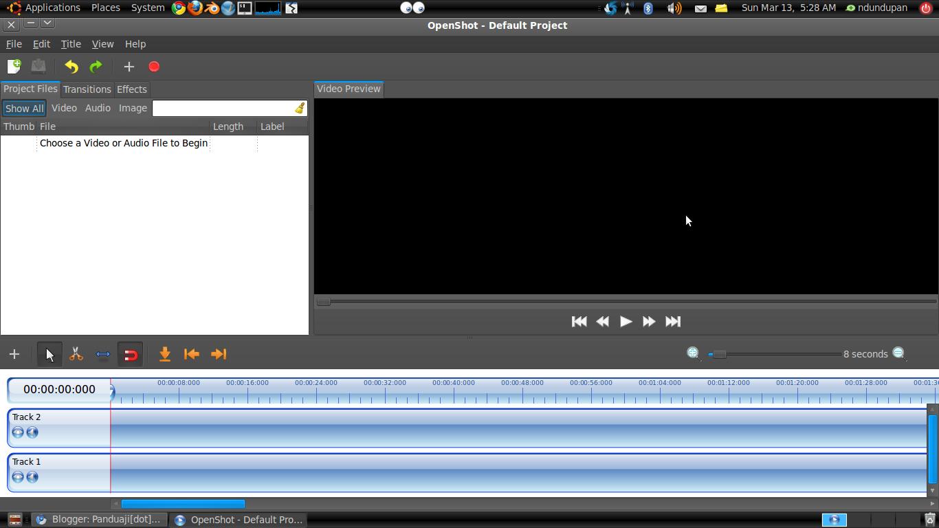 OpenShot Video Editor 1