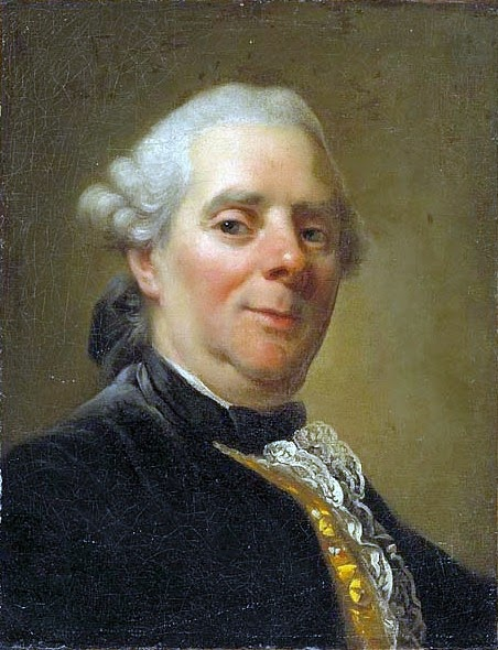 Alexander Roslin - Self-portrait