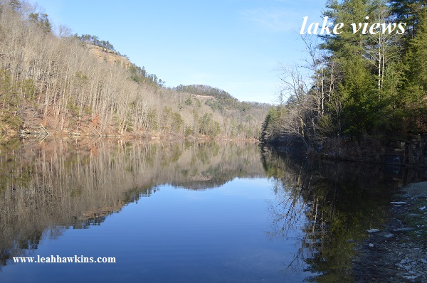 red river gorge lake views