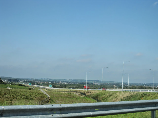 The roads around Shannon Airport
