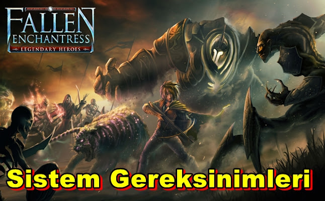 Fallen Enchantress: Legendary Heroes PC Sistem Gereksinimleri