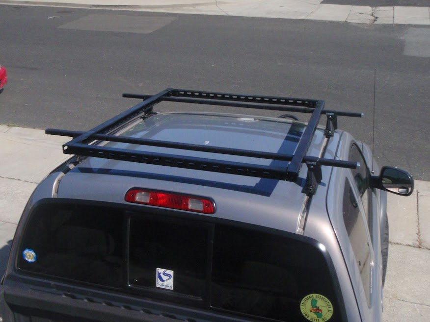 ... Mount And Have A Roof Rack. Hereu0027s My 2000 Tundra Using Thule Feet I  Had For My Old 93 Nissan Sentra. I Bolted The Feet Down With Grade 8  Hardware