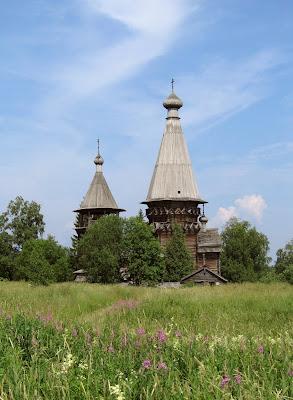 Деревянная церковь Рождества Богородицы Гимрека