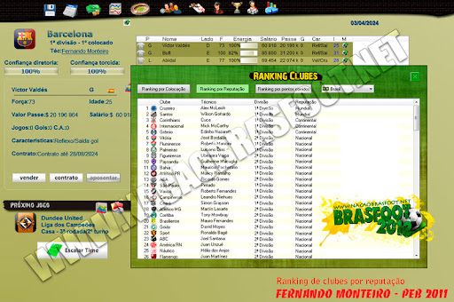 mais campeonatos para o brasfoot 2012