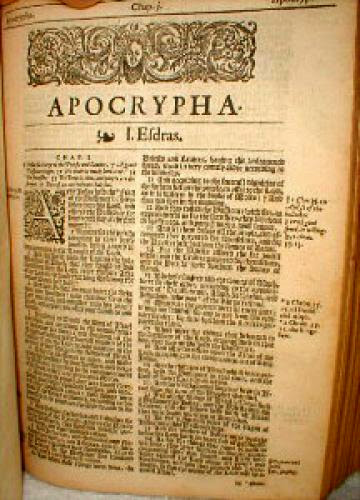 Should The Apocrypha And Lost Gospels Be In The Bible