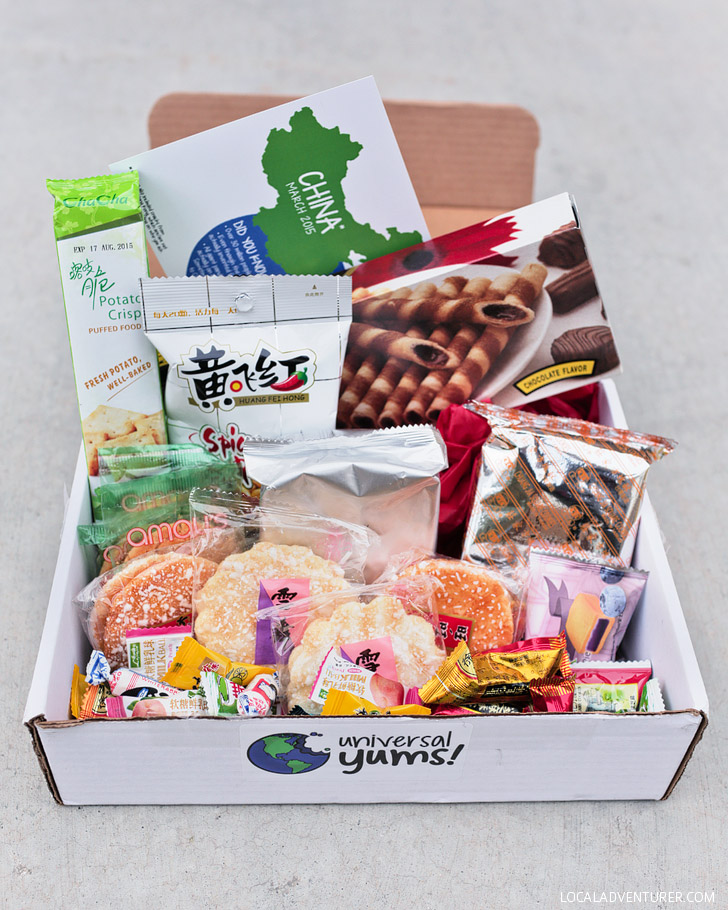 Universal Yums (Best Subscription Boxes for Travelers).