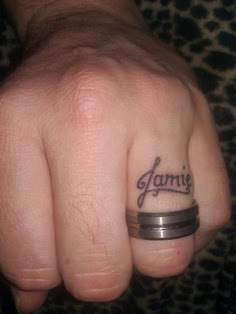 Tattoo wedding ring