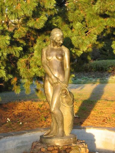 Aino fontein in Tornio